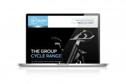 Email marketing design for Pulse Fitness Global