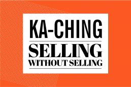 ka ching flat vector illustration
