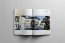 canal brochure magazine spread