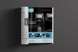 Pulse Fitness Global print adverts suite