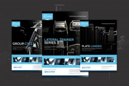 print advertising examples for Pulse Fitness Global
