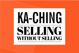 ka ching flat vector illustration