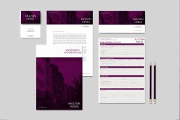 railton meeks letting agency brand stationery