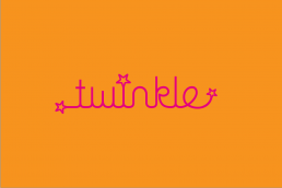 brand identity example for Twinkle