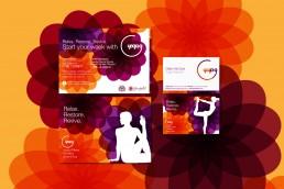 sports branding material for Yoga G